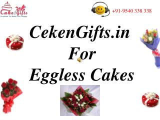 CakenGifts.in For Eggless Cakes