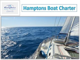 Hamptons Boat Charter