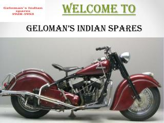 Indian motorcycle spares parts