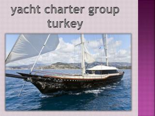 yachting turkey
