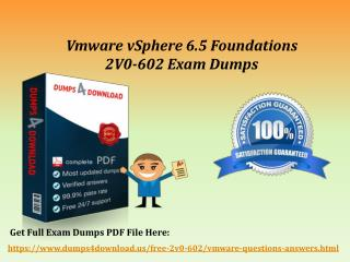 Download 2V0-602 Braindumps - VMware 2V0-602 Real Exam Questions Dumps4Download