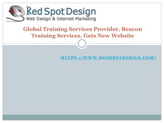Global Training Services Provider, Beacon Training Services, Gets New Website