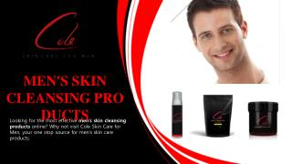 MENS SKIN CLEANSING PRODUCTS