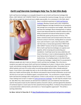 http://healthonlinereviews.com/earth-leaf-garcinia-cambogia/