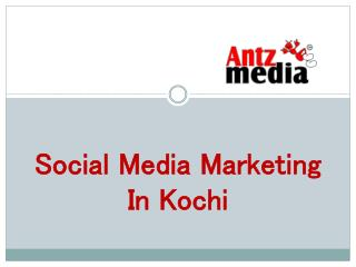 social media marketing in kochi