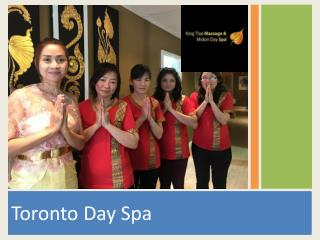 Toronto Day Spa- Enjoy Massage Therapy at Affordable Price