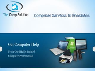Computer repair in Ghaziabad
