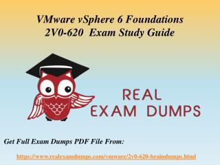 Download Valid VMware 2V0-620 Exam Questions - 2V0-620 Exam Dumps PDF