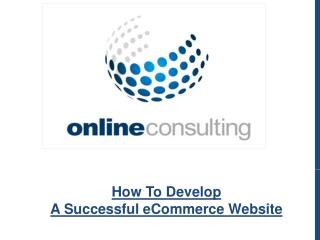 How To Develop A Successful eCommerce Website