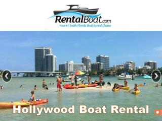 Boat Rentals in South Florida