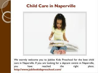 Child Care in Naperville