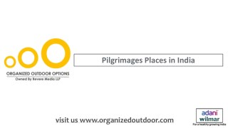 Outdoor Advertising in Pilgrimage Places India