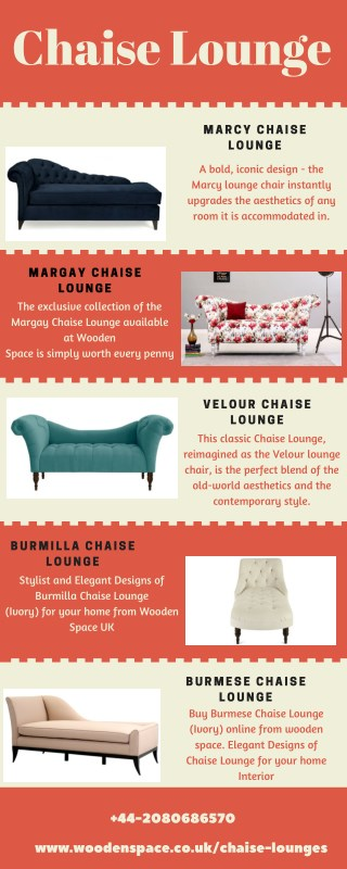 Well furnished Chaise Lounge in UK @ 60% Off