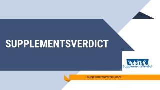 SupplementsVerdict - Shop Best Health care Products provider