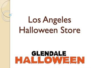 Los Angeles Halloween Store