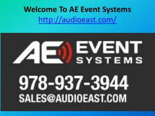 Welcome To AE Event Systems