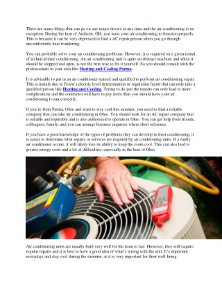 The importance of AC maintenance: K and K Heating and Cooling