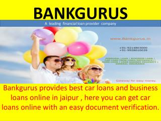 Attractive Business Loan in  Jaipur