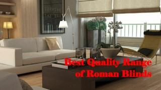 Best Quality Range of Roman Blinds