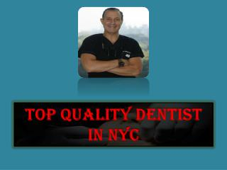 Quality and Comprehensive Dental Care at NYC