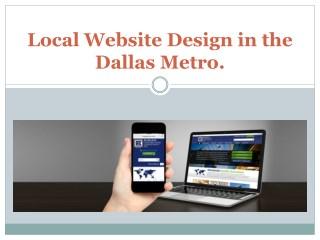 Local Website Design in the Dallas