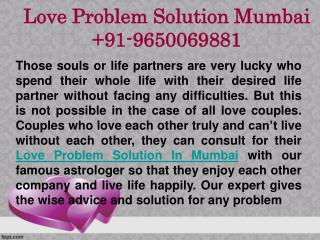 Love Problem Solution In Mumbai | 9650069881