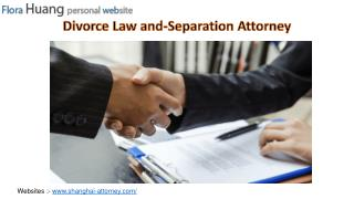 Divorce Law and Separation Attorney in China