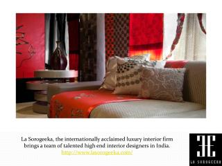 Top Luxury Interior Designers