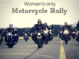 2017 Motorcycle Rallies, Women Motorcycle Riders