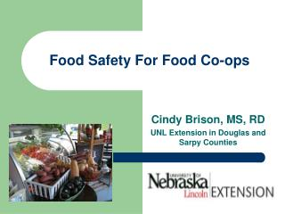 Food Safety For Food Co-ops