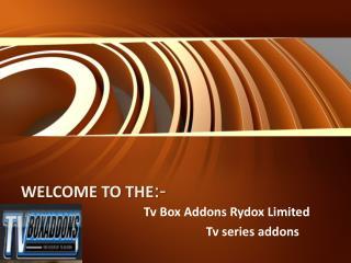 Tv series addons