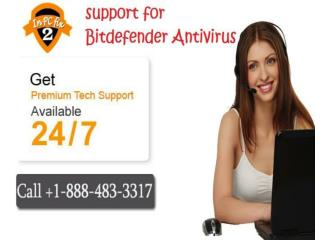 Get Bitdefender Support on Toll Free  1-888-483-3317 Number