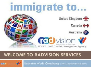 Radvision World Consultancy, Immigration Service Consultancy