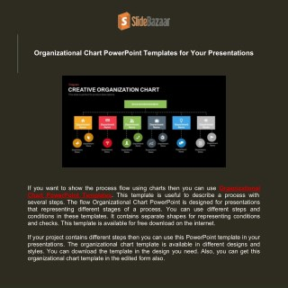 Organizational Chart PowerPoint Templates for Your Presentations