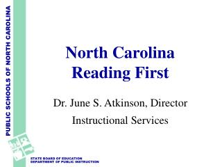 North Carolina Reading First