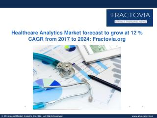 Descriptive Analytics segment of Healthcare Analytics Market to grow at 11% CAGR from 2017 to 2024