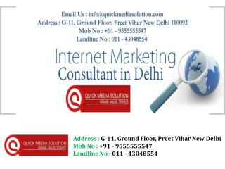 Internet advertising company in Delhi