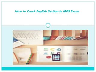 How to Crack English Section at IBPS Exam