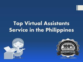 Top Virtual Assistants Service in the Philippines