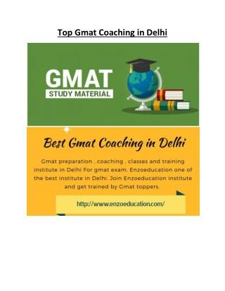 Top Gmat Coaching in Delhi