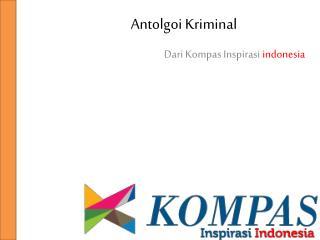 Antologi krimainal