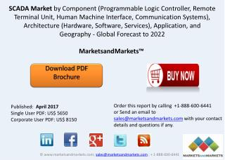 SCADA Market worth 13.43 Billion USD by 2022