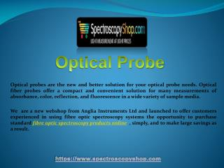 Fibre Optic Spectrometer