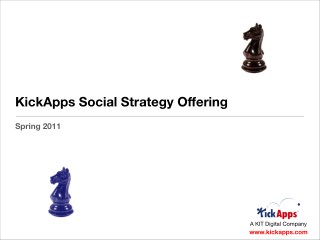 KickApps Social Strategy 2011