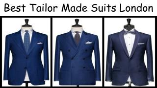 Affordable Tailor Made Suits London