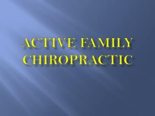 chiropractic treatment kentland