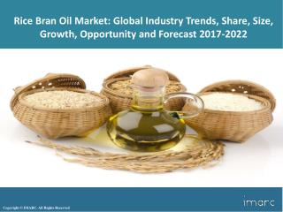 Global Rice Bran Oil Market - Industry Trends, Share, Growth, Analysis and Forecast 2017 - 2022