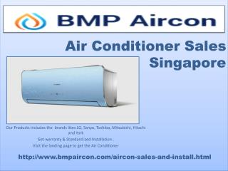 Air Conditioner Sales Singapore