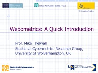 Webometrics: A Quick Introduction