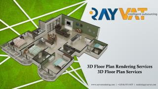 3D Floor Plan Rendering Services,3D Floor Plan Services